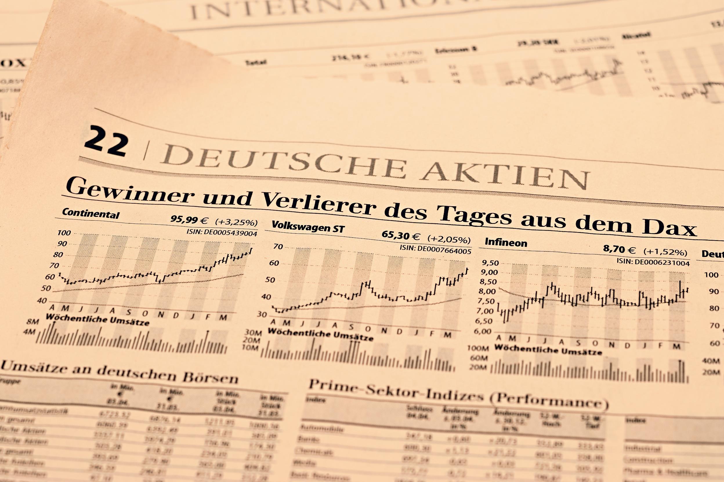 börse vw aktie