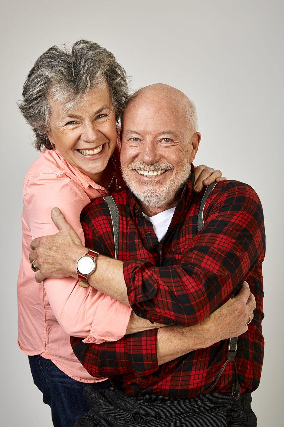 Margie Kinsky und Bill Mockridge im Maxipark