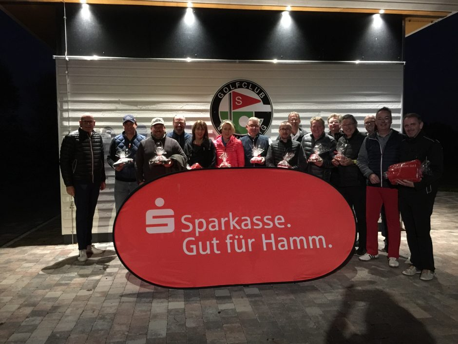 Herbstturnier der Sparkasse Hamm beim Golfclub Stahlberg