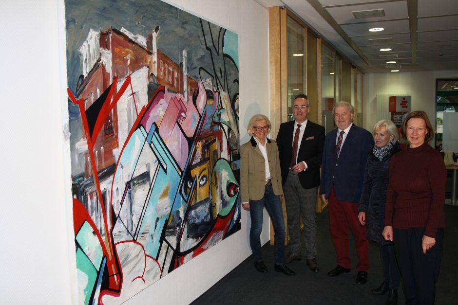 Sparkassen-Stiftung erwirbt Werk der Hammer Künstlerin Ute Hoeschen