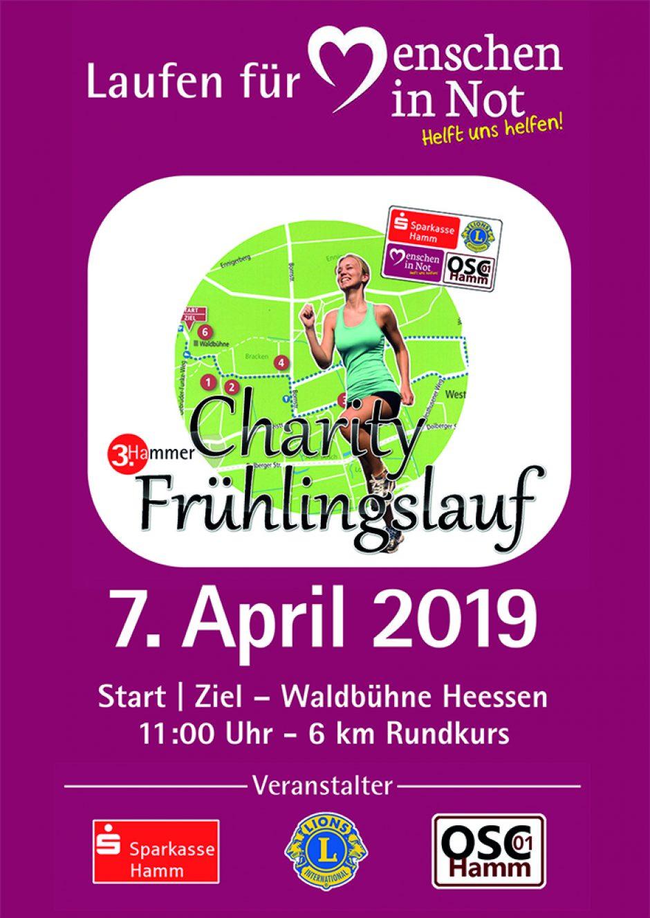 """Charity-Lauf für Aktion """"Menschen in Not"""" am 7. April – jetzt schon anmelden"""