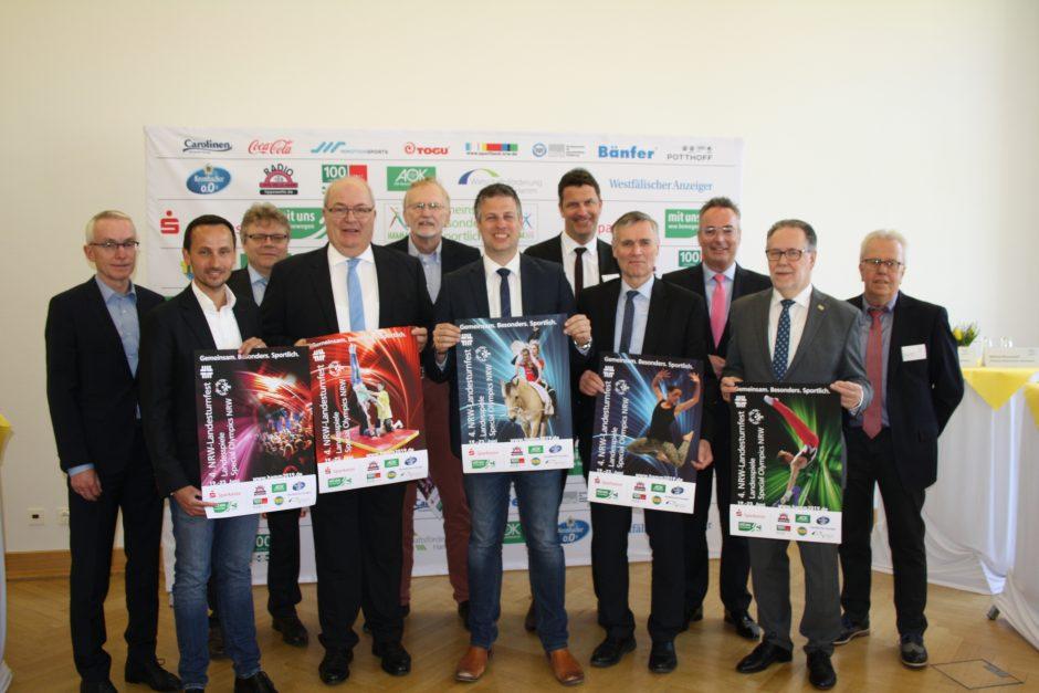 Dabeisein ist einfach. Sparkassen-Finanzgruppe unterstützt das Landesturnfest in Hamm