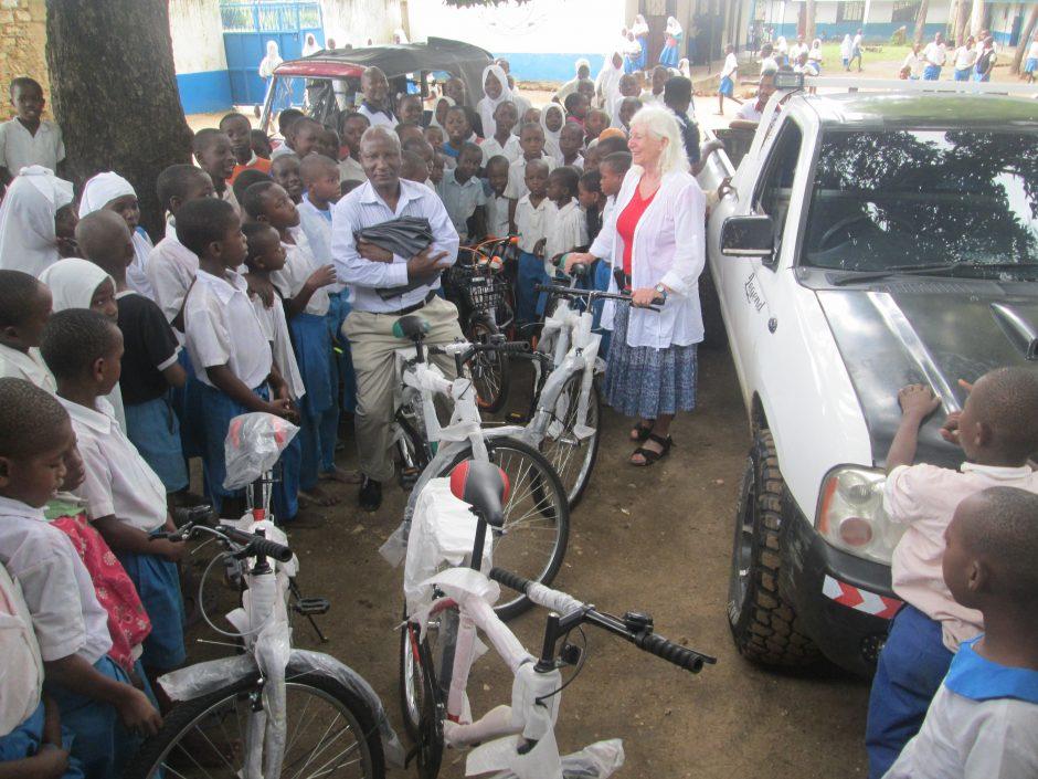 Fahrräder für Ukunda: Autofasten-Spenden unterstützen Klimaschutz in Hamm und in Kenia