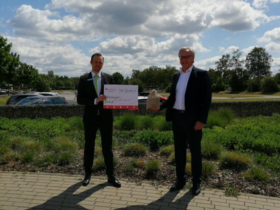 Sparlotterie: Kunde gewinnt 50.000 Euro