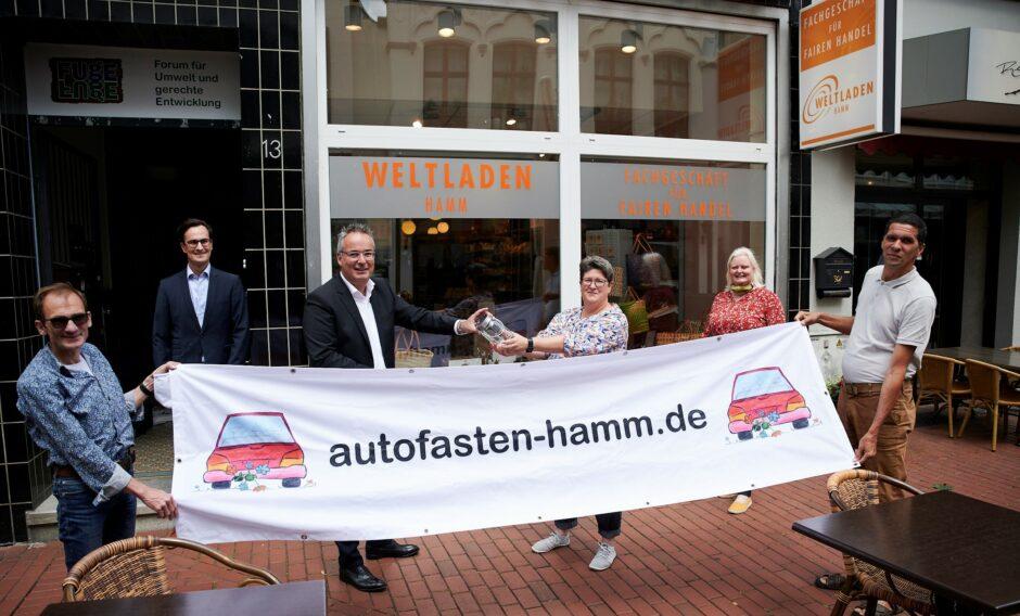 Autofasten: Sparkasse Hamm unterstützt den Klimaschutz