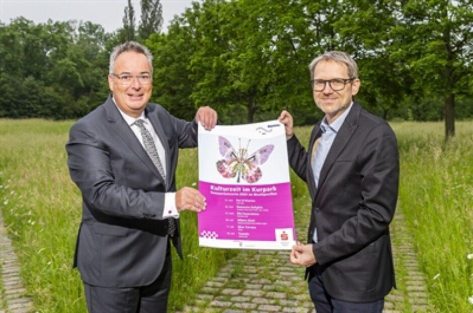 """Start in die """"Kulturzeit im Kurpark"""" am 13. Juni: Irish Folk im Musikpavillon"""